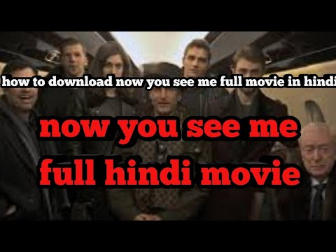 Now You See Me Full Movie In Hindi Hd/ How To Download Now You See Me