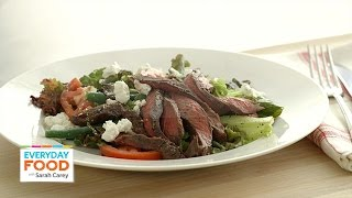 Savory Steak Salad With Goat Cheese - Everyday Food With Sarah Carey