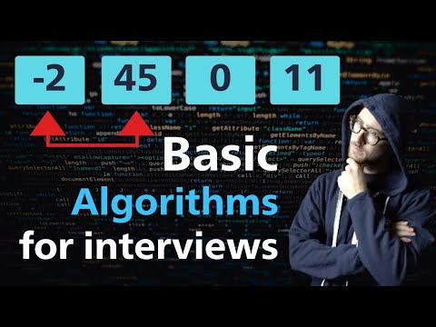Basic Algorithm Overview - MUST Know For Coding Interviews (2020)