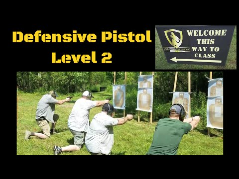 Defensive Pistol Level 2 Geauga Firearms Academy