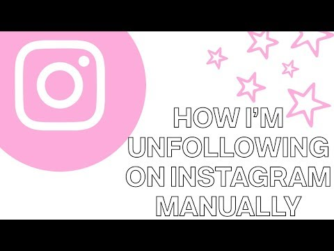 How I'm Unfollowing On Instagram Without Cleaner/Unfollow Apps