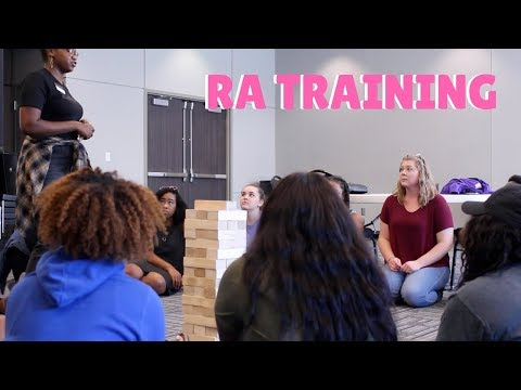 RA TRAINING VLOG (week #1) | 2017-2018 Edition