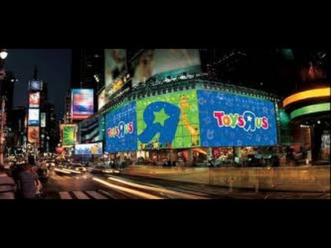 Toys R Us New York City Times Square Youtube