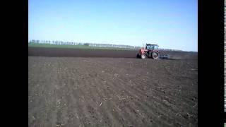 Культивация - Пара тракторов ЮМЗ-6, МТЗ-82  4 га/ч(, 2015-04-28T16:17:09.000Z)