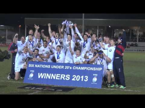 England U20 lift 2013 Six Nations trophy: Jack Clifford interview