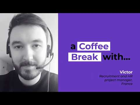 A coffee break with Victor