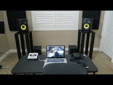 Build your own Studio Monitor Stands: D.I.Y under 30 Bucks!! canon g7x