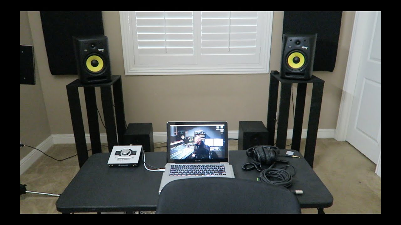 Build Your Own Studio Monitor Stands D I Y Under 30 Bucks
