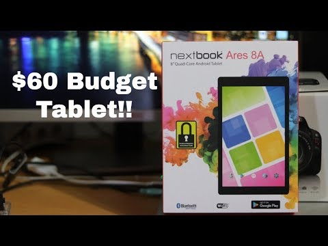 NEXTBOOK Ares 8A (Android Nougat 7.1 Review)
