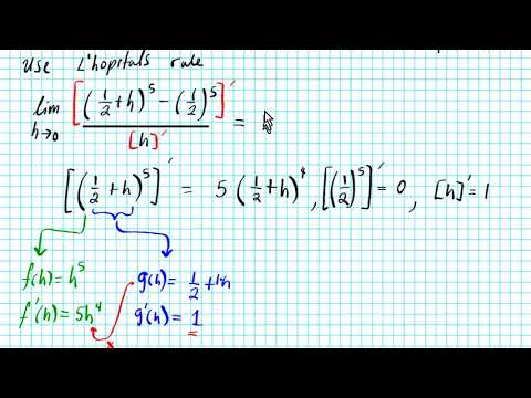 How to use lhopitals rule to find double sided limits ap calc ab PrU8L2 calculus