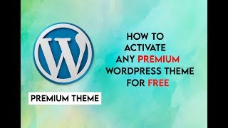 How to activate any premium wordpress theme | Newspaper | Publisher | Jannah | Herald | Crack themes