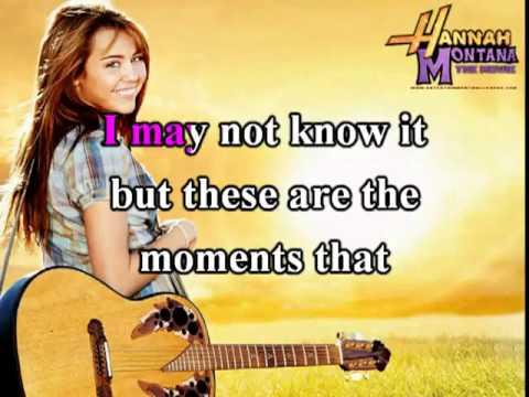 The Climb - Miley Cyrus Karaoke