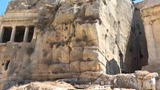 קברי נחל קדרון, ירושלים - קבר בני חזיר וקבר זכריה