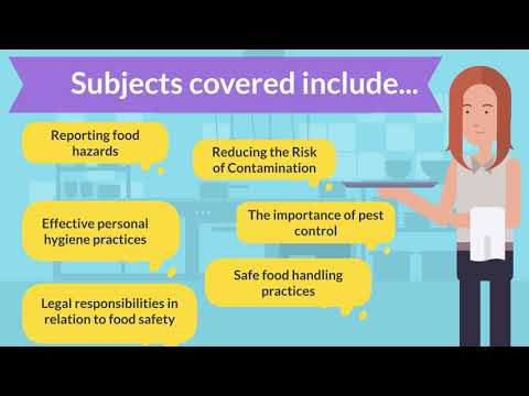 Open Awards Level 2 Award in Food Safety in Catering (RQF