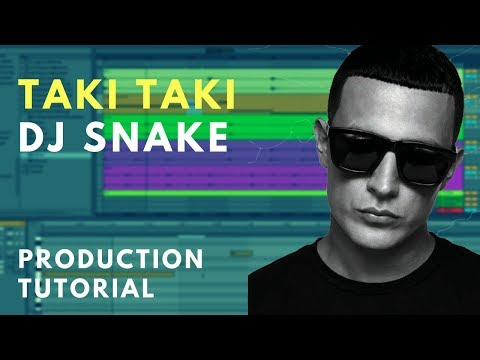 Production Tutorial: Dj Snake - Taki Taki | Sample chopping