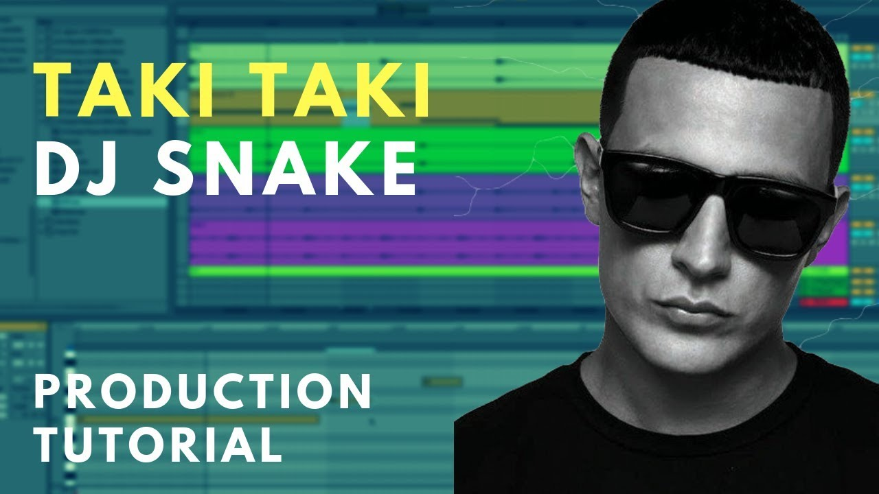 Production Tutorial: Dj Snake - Taki Taki | Sample chopping