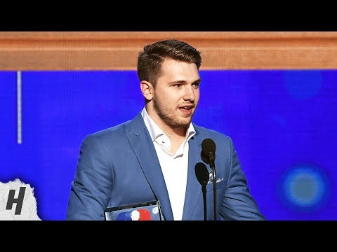 Luka Doncic Wins Rookie of the Year Award - 2019 NBA Awards