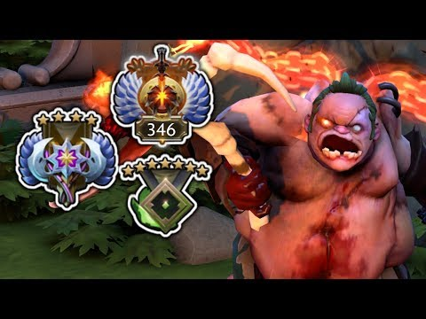 Pudge at 3 Different Ranks - Replay Analysis
