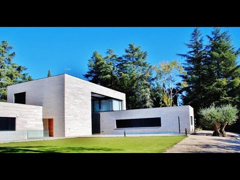 Chalet dise o y lujo valdemarin madrid youtube for Chalet diseno
