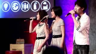 TEDxTaipeiChange 2012 - Voco Novo  A Cappella Group  (爵諾人聲樂團)