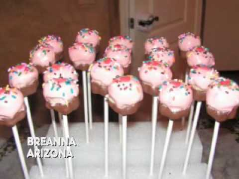 Cupcake Pops & Bites - YouTube