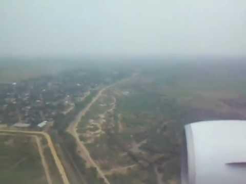 Landing at Bujumbura International Airport