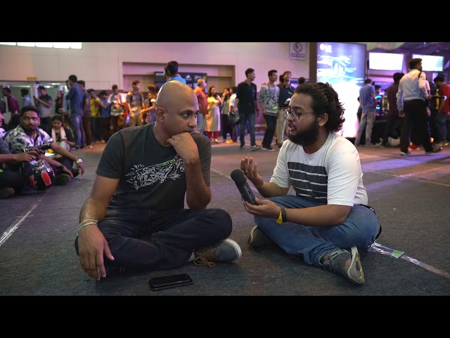 #GamerConnect Guwahati - Interview with Vamsi Krishna | Nvidia