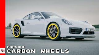 The 20 inch Porsche 911 Turbo Carbon Wheel