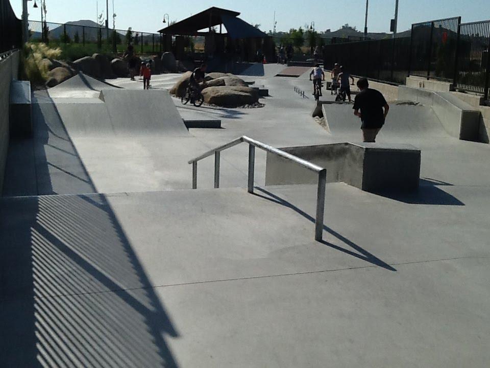 Skatepark Tours Audie Murphy Ranch Menifee Ca Youtube
