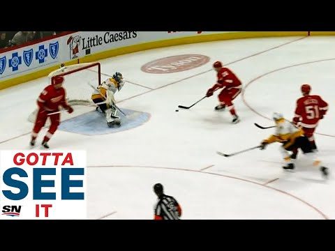 GOTTA SEE IT: Red Wings Astoundingly Blow 3-on-0 Chance Against Pekka Rinne