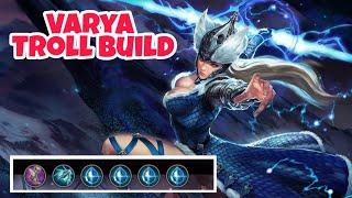 Vainglory - Varya Shatterglass Troll Build