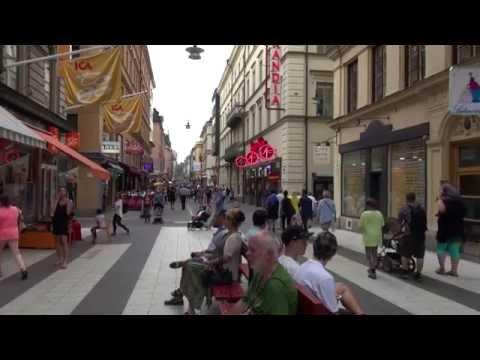 Présentation générale de la ville de Stockholm
