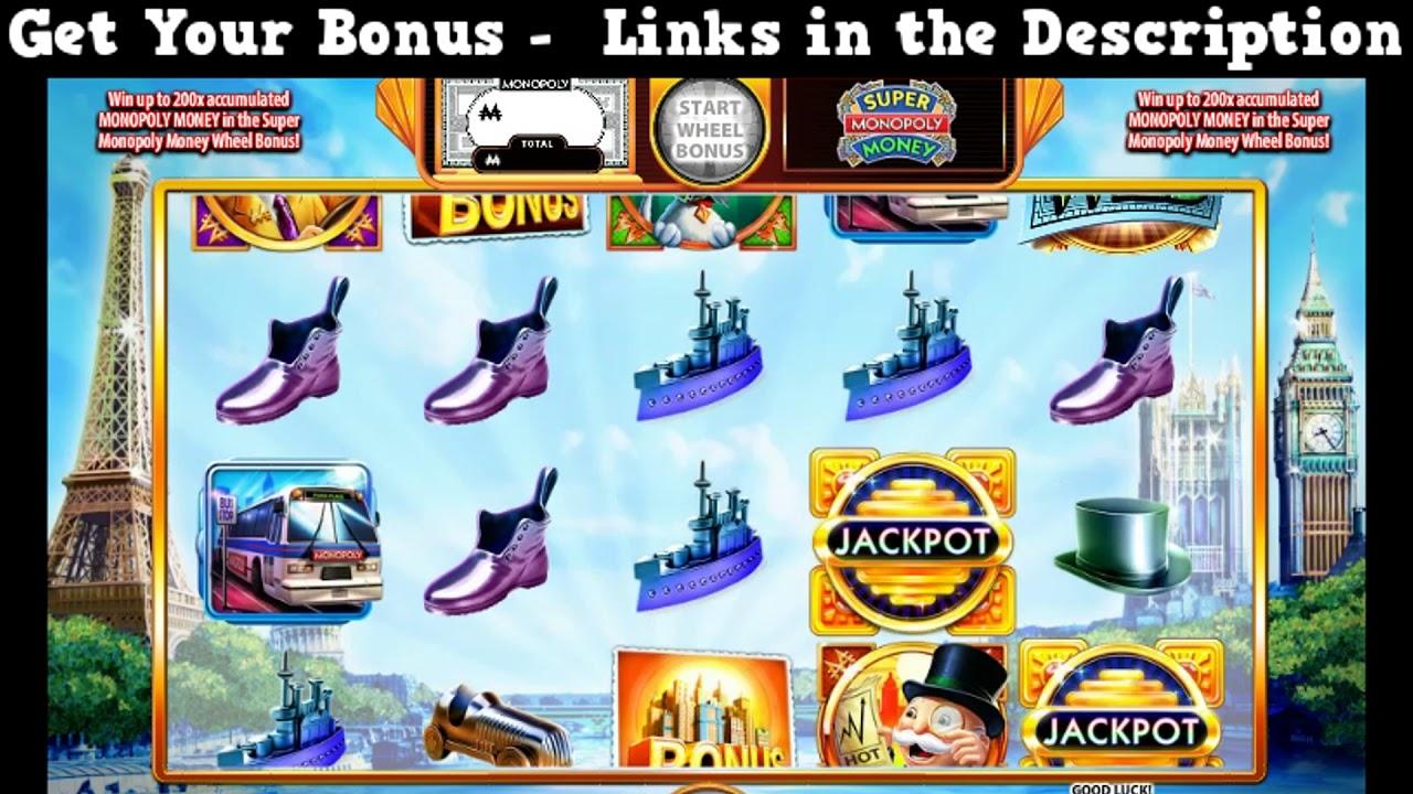Super Monopoly Money Slot Online