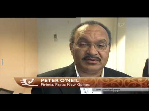 Waipareira programmes 'resonates' with PNG's prime minister