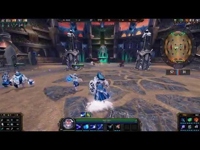 SMITE Diamond skins - Zeus Thanatos Nemesis Freya Bacchus Arena Gameplay