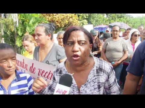 Comunitario de Cutupú Realizan Marcha Pacífica