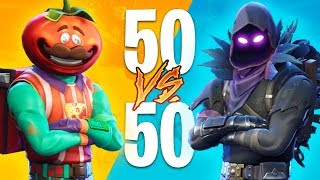 NEW UPDATE!! *50 VS 50 and TOMATO MAN* (EPIC BUILDING BATTLES)