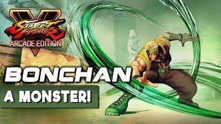 Bonchan - A Monster with Nash! Street Fighter V Arcade Edition