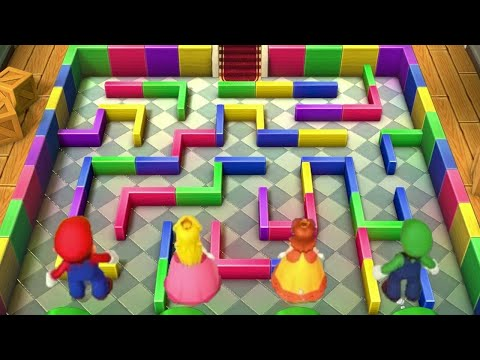 Mario Party 10 - All Tricky Minigames