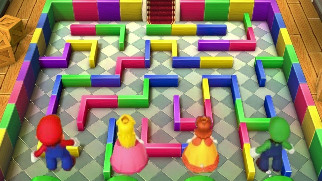 Mario Party 10 – All Tricky Minigames
