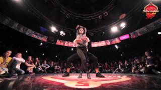 Nikita Rapture vs Ulyana La'beija Vogue 1vs1 1/2F@Funkin' Stylez Eastern Europe (qualifier)