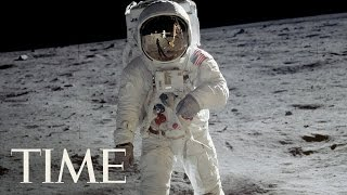 A History Of Spacewalks: First Walk On The Moon, July 21, 1969 | TIME
