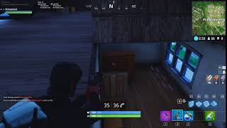 Fortnite | Boi gets recked behind shelf