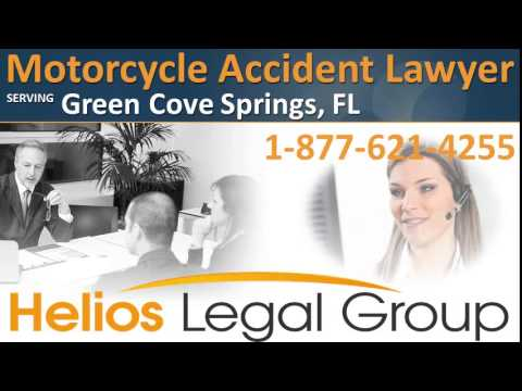 Green Cove Springs Motorcycle Accident Lawyer & Attorney - Florida