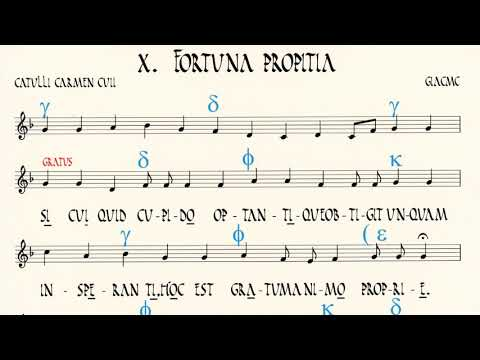 Catulli Carmen Cvii Recitatum, Modulatum Uoce Et Cithara