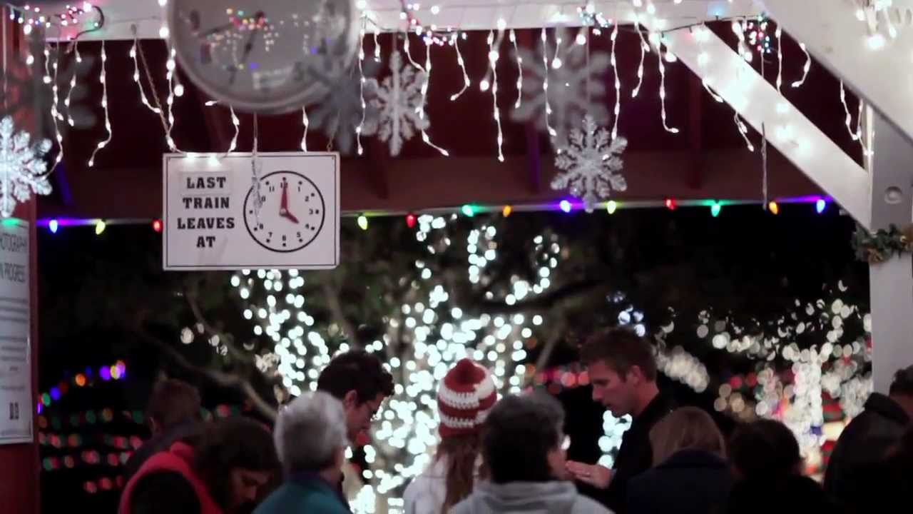 Irvine Park Railroad Christmas Train - YouTube