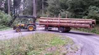 Holztransport Bührer 6105,2014 und Archiv