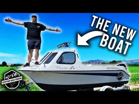 Finally My New Boat! - Predator - 165 - Sea Angler - Review And Walk Around!