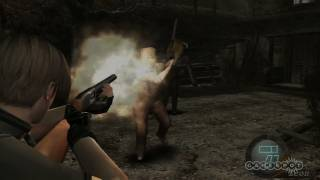 Resident Evil 4 Hd: Shooting Zombies In The Face Gameplay Movie  Ps3