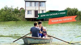 История стройки и жизни в деревне: как гараж для лодки объединил семью // FORUMHOUSE